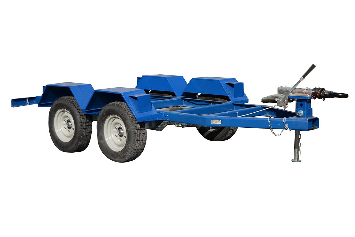Прицеп двухосный ПСТ-3,5Т (3700х1160 мм)