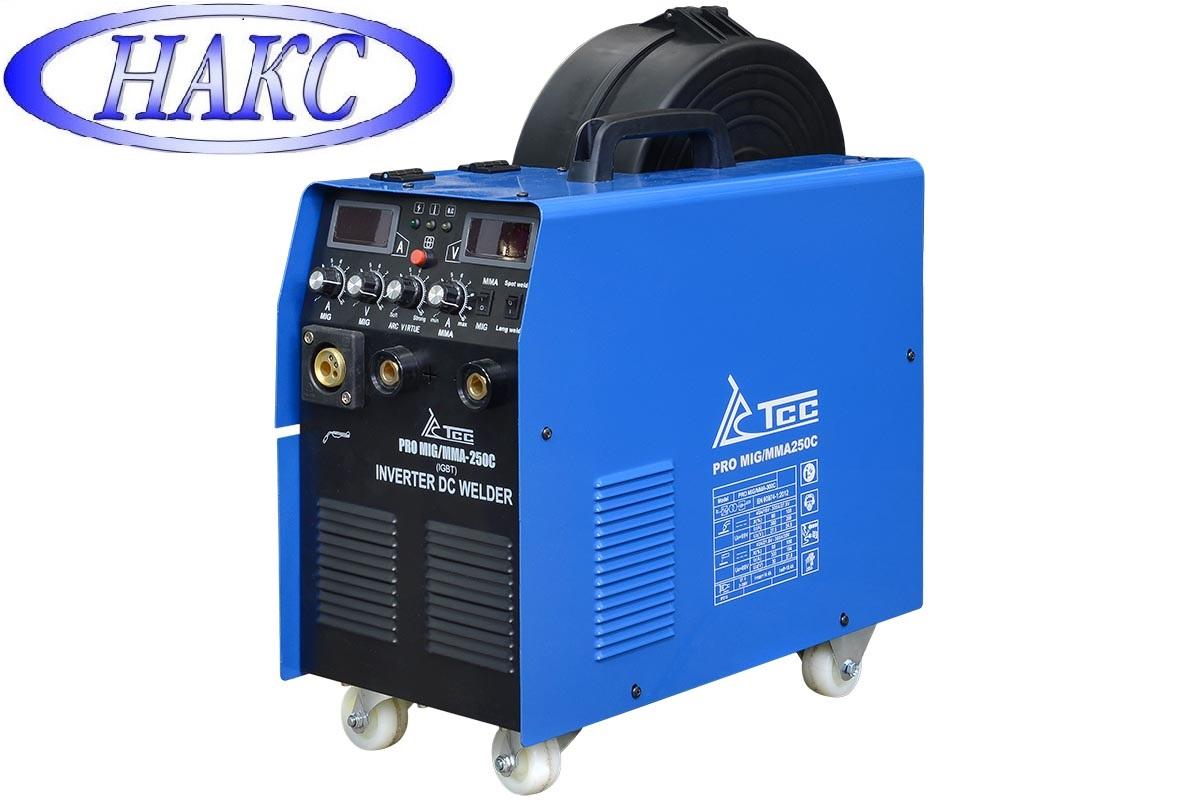 Сварочный полуавтомат TSS PRO MIG/MMA-250C