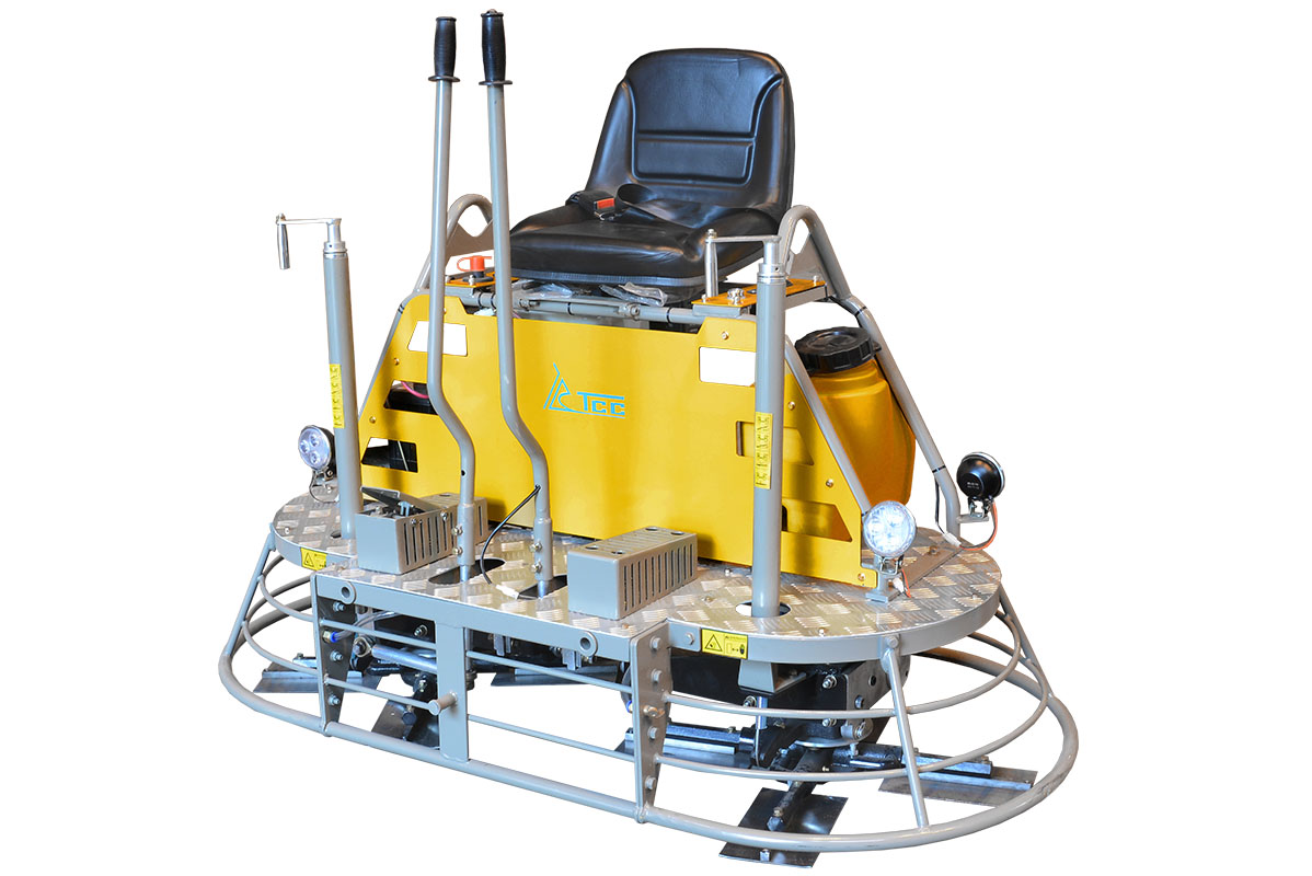 Двухроторная затирочная машина TSS DRD1600H (лопасти)