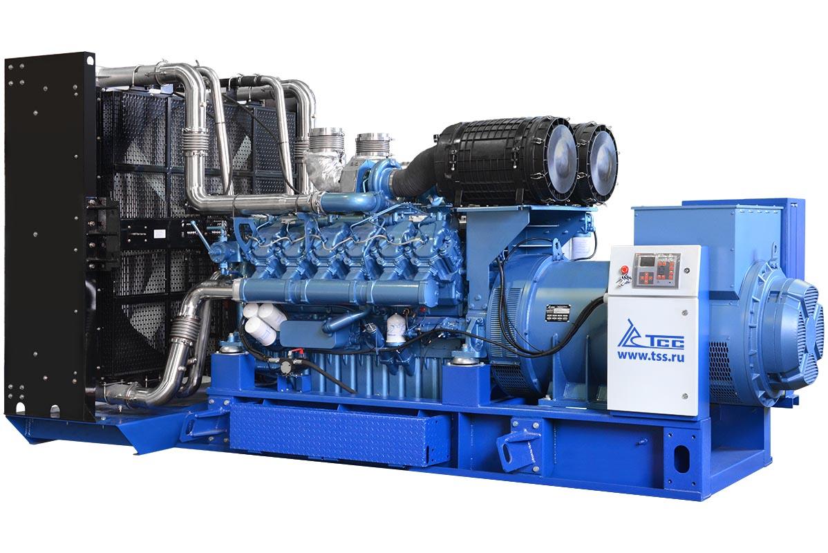 Дизельный генератор ТСС АД-1100С-Т400-1РМ9 / Дизельный генератор TBd 1500TS