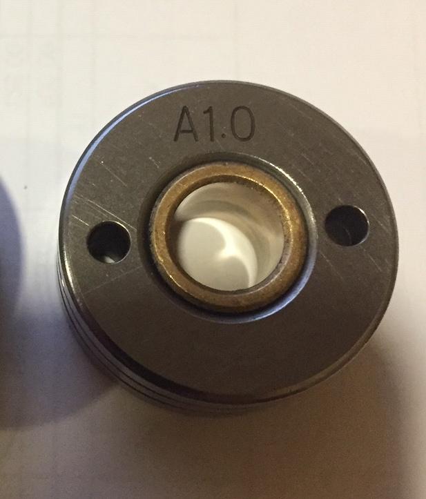 Ролик подающий под алюминий (30-10-12) 0.8/1.0