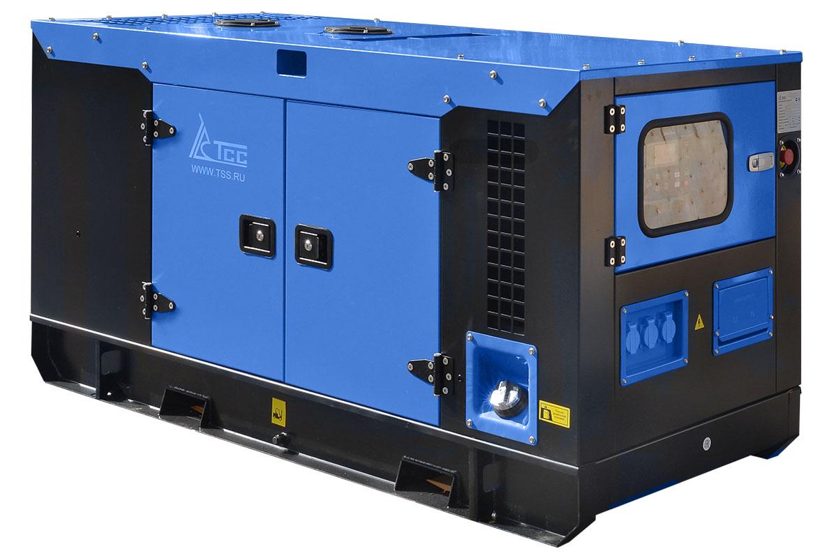 Дизельный генератор ТСС АД-16С-230 в шумозащитном кожухе