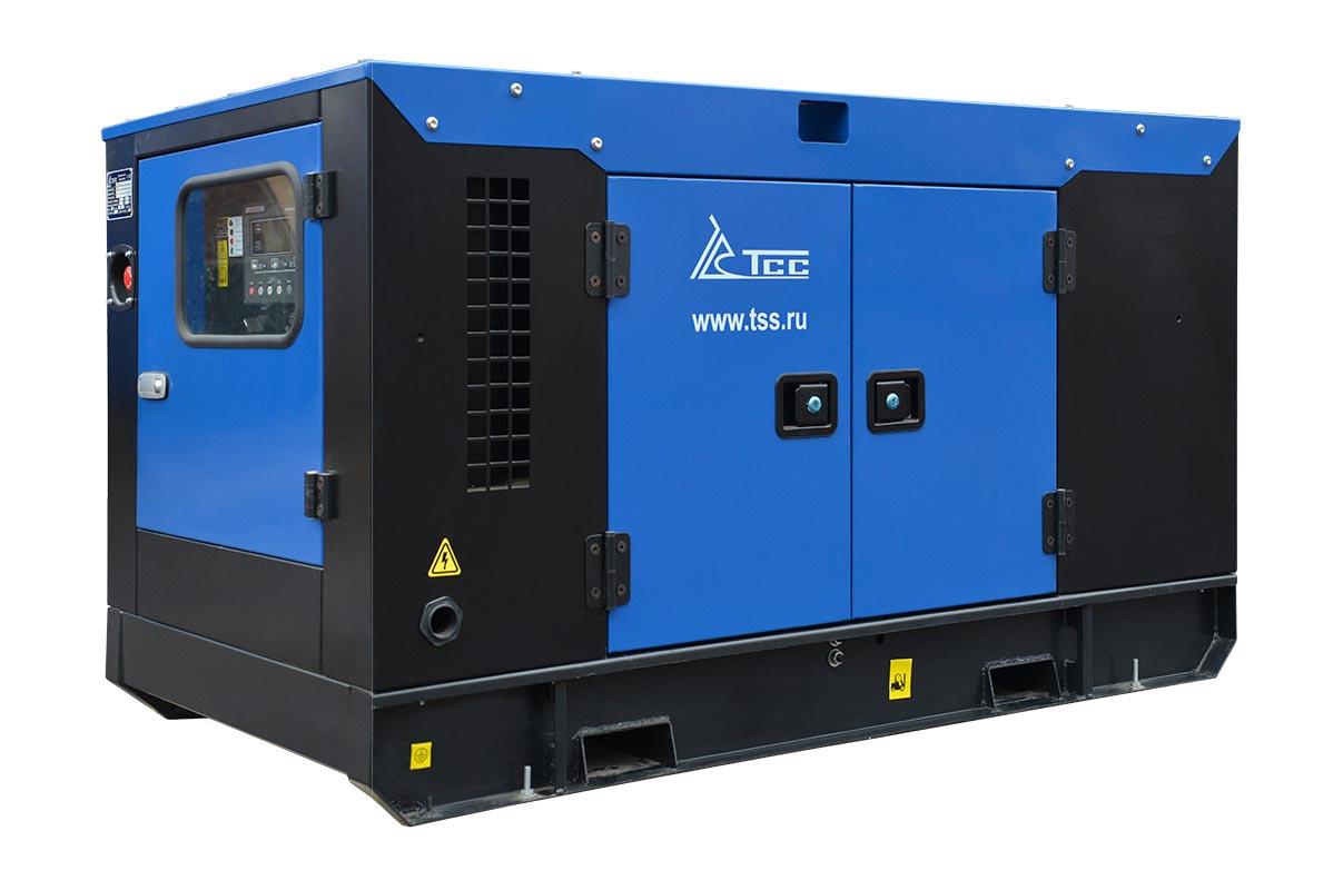 Дизельный генератор ТСС АД-20С-Т400 в шумозащитном кожухе