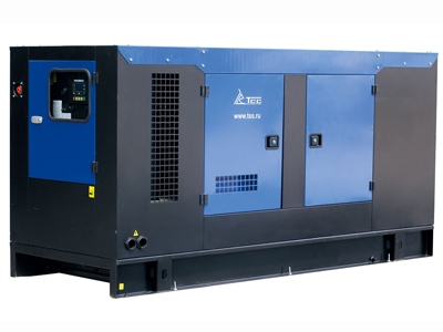 Дизельный генератор ТСС АД-200С-Т400 в шумозащитном кожухе