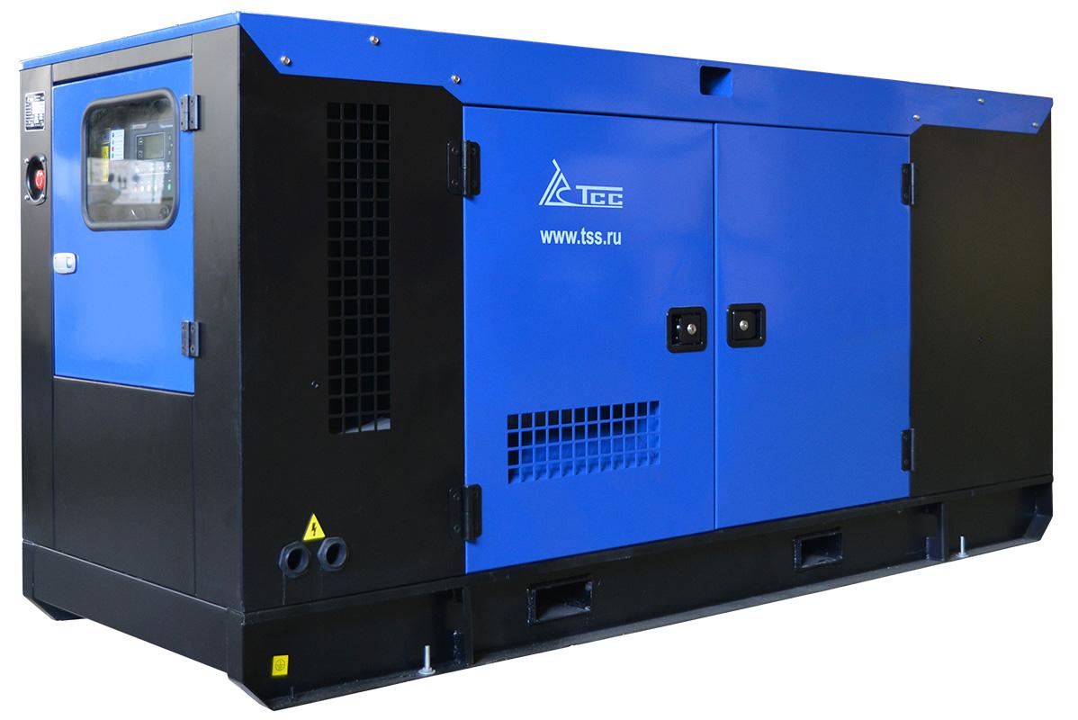 Дизельный генератор ТСС АД-50С-Т400 в шумозащитном кожухе