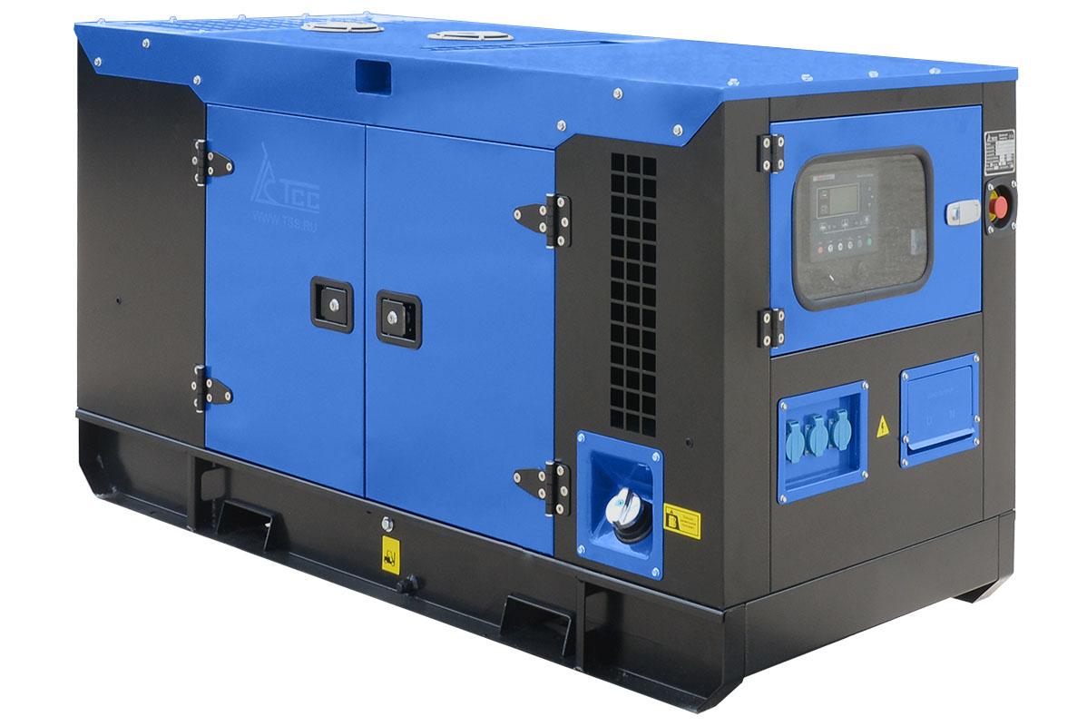 Дизельный генератор ТСС АД-60С-Т400 в шумозащитном кожухе