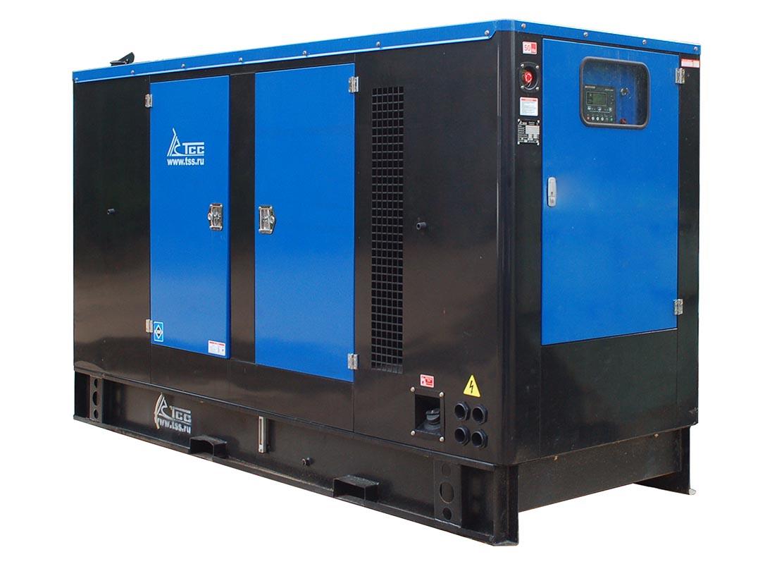 Дизельный генератор ТСС АД-80С-Т400 в шумозащитном кожухе