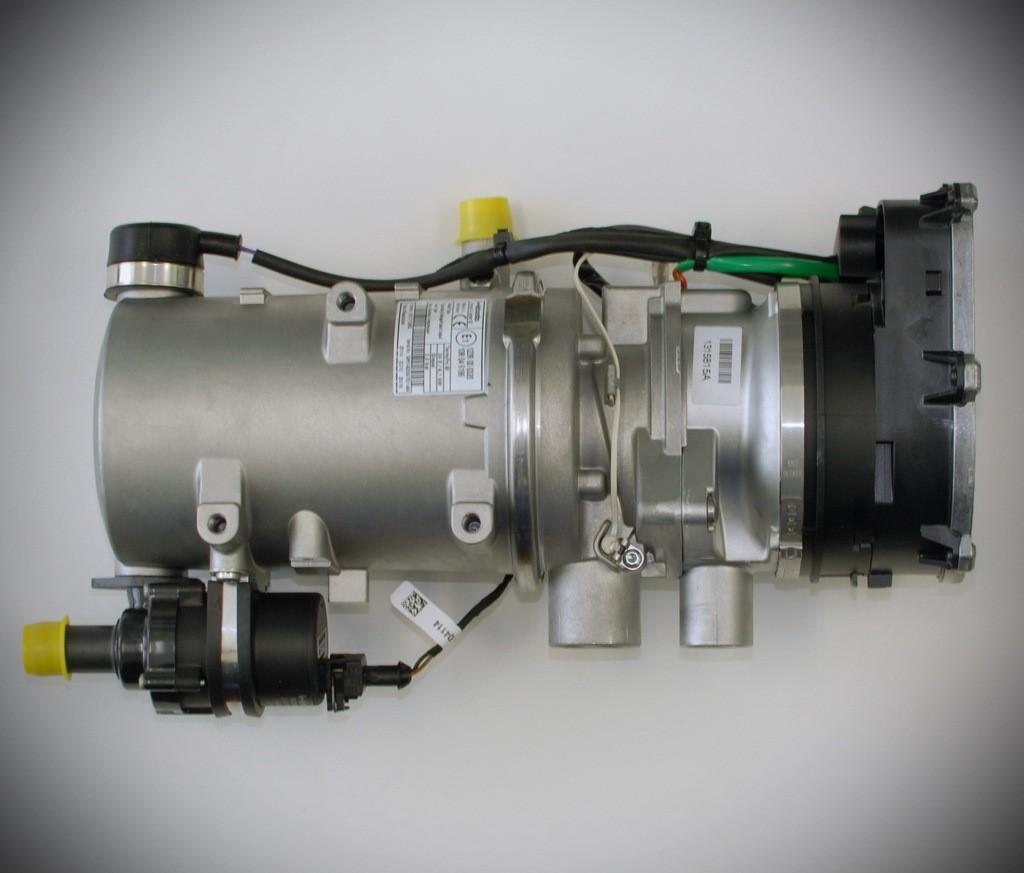 ПЖД Webasto 9,1 кВт с комплектом для установки и пультом управления
