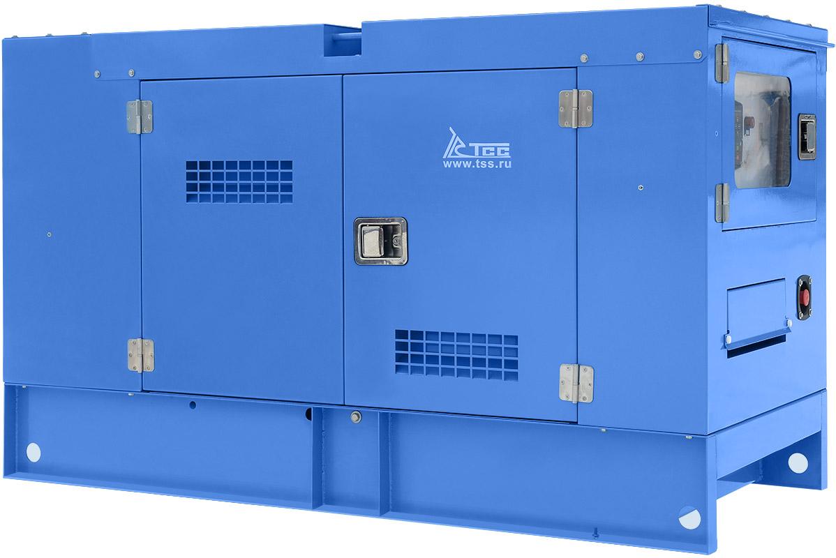 Дизельный генератор ТСС АД-16С-Т400-1РКМ5 в шумозащитном кожухе
