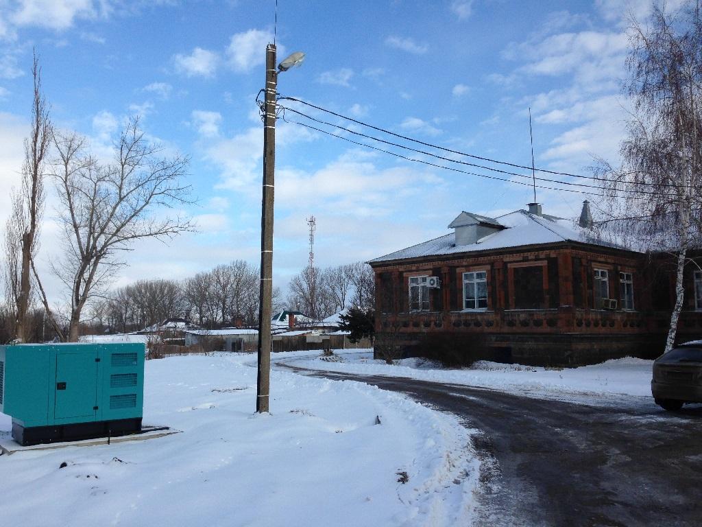 Монтаж ДГУ 60 кВа для участковой больницы Краснодарского края