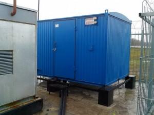 montazh konteynernoy DGU 40 kVa