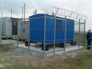 montazh konteynernoy DGU 40 kVa na obekte svyazi  federalnogo operatora
