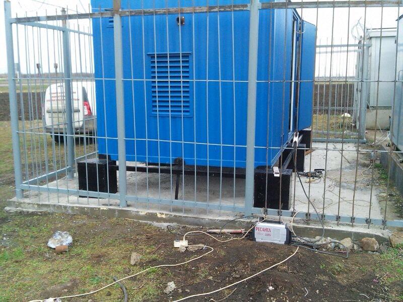 Монтаж контейнера 40 кВа для федерального оператора сотовой связи